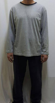Пижама мужская хлопковая со штанами. Размеры от 46 до 54, хлопок, фото 2