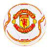 Мяч футбольный Grippy G-14 Manchester U White