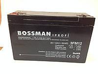 Аккумулятор 6V 12Ah  Bossman profi 3FM12 - LA6120