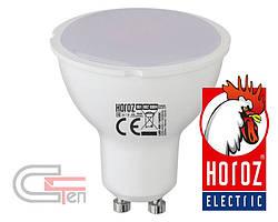 """Лампа SMD LED GU10  100-250V 6W  3000K/6400K    """"PLUS-6"""""""