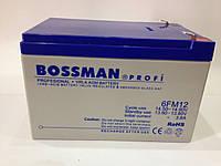 Аккумулятор 12V 12Ah Bossman profi 6FM12 - LA12120