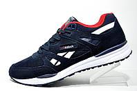 Мужские кроссовки в стиле Reebok Ventilator, Dark Blue\White