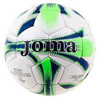 Футбольный мяч для активной игры DXN White JM-4, зеленый