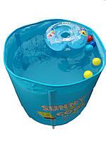 Комнатный бассейн для плавания ребёнка дома, цвета