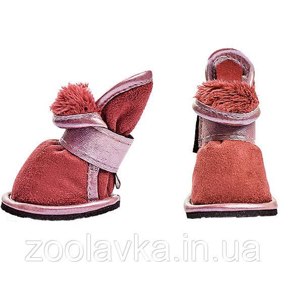 Ботинки Pet Fashion Кросс утепленные для собак
