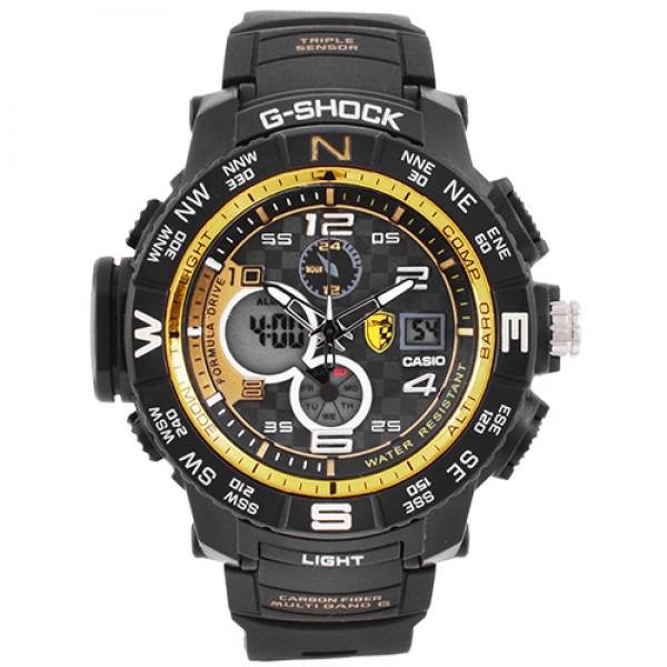 Часы наручные мужские Casio G-Shok GPW-2000 Gold/Золото в подарочной упаковке