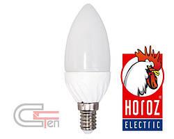 """Лампа SMD LED 6W свічка  Е14,Е27 4200K-6400K            """"ULTRA-6"""""""