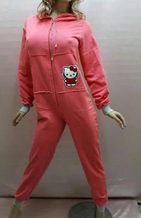 Домашняя одежда,Детский байковый комбинезон, слитная пижама, кигуруми   Размеры от 34 до 48, фото 2