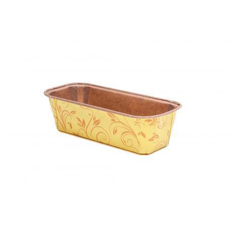 Форма для випікання прямокутна жовта - Ecopack