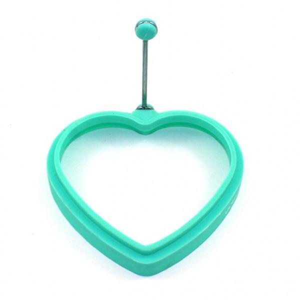 Форма для яичницы Fissman Сердце (Силикон)