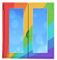 KBE 58 ламинация двухсторонняя окна и двери металлопластиковые