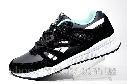 Кроссовки унисекс в стиле Reebok Ventilator, Black\White, фото 2