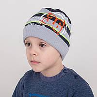 Вязанная шапка на мальчика от производителя - Exercise - Арт 1793