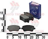 Колодки тормозные передние DACIA/RENAULT/NISSAN LOGAN/DOKKER/DUSTER/LODGY/CLIO/KANGOO/MICRA/NOTE (Frico). FC 1544