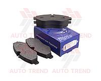 Колодки тормозные передние MERSEDES Sprinter 906,Vito, VW Crafter (Frico). FCB 576