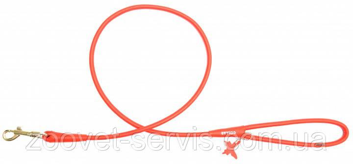 Поводок Collar Glamour круглый 122 см 4 мм Красный 33883