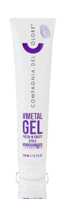 CDC #Metal Gel Гель для волосся 200 мл