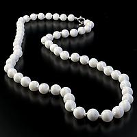 Коралл белый, Ø8 мм., бусы, 321БСК , фото 1