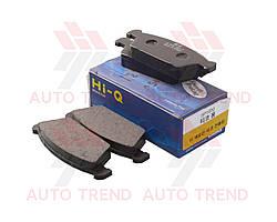 Колодки тормозные передние DAEWOO TICO передние (Hi-Q). SP1050