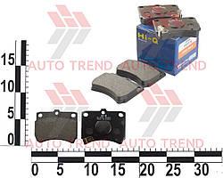 Колодки тормозные передние MAZDA 121 1,1 1,3 87- KIA PRIDE 1,1 1,3 90- (Hi-Q). SP1049