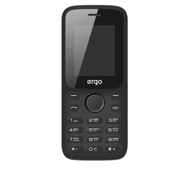 Мобильный телефон Ergo F182 Point Black на 2 сим-карты