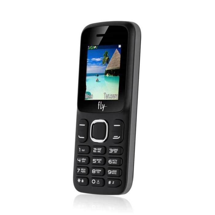 Мобильный телефон FLY FF180 Black на 2 сим-карты