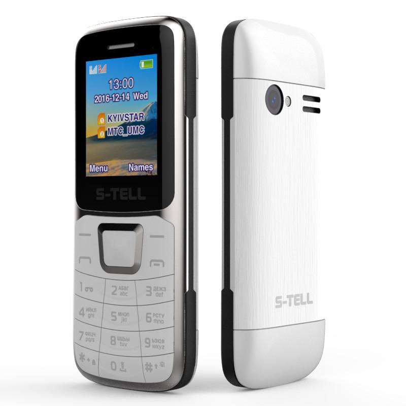 Мобильный телефон S-Tell S1-07 Silver на 2 сим-карты