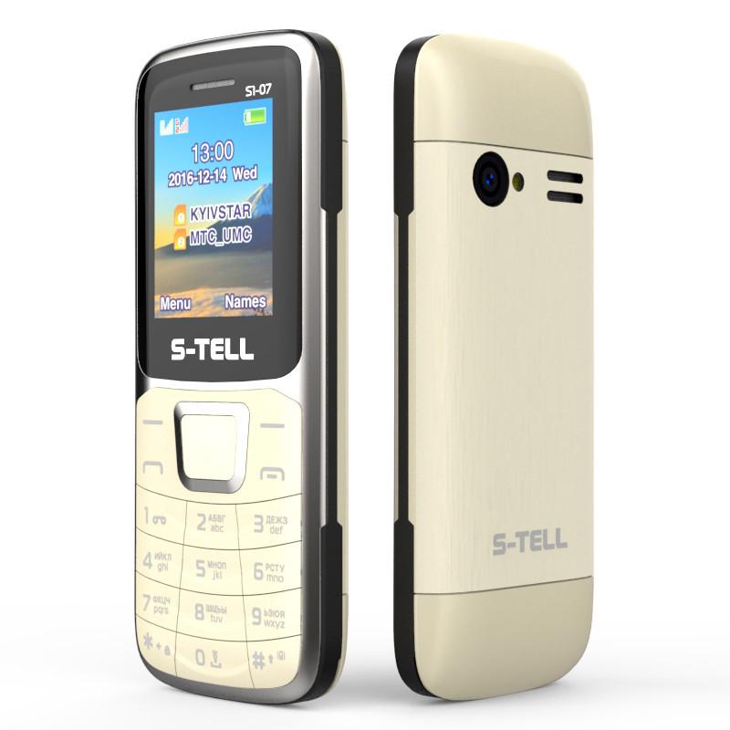 Мобильный телефон S-Tell S1-07 Gold на 2 сим-карты