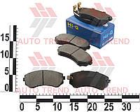 Колодки тормозные передние NISSAN LAUREL C33 (-ABS), MAXIMA A31 (-ABS),SILVIA (Hi-Q). SP1492