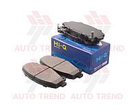 Колодки тормозные передние HONDA ACCORD 2.4I SED,TOURER - VTEC CU2/CW2 K24Z3 2354CC 16V DOHC FWD 6 MTM (Hi-Q). SP1606