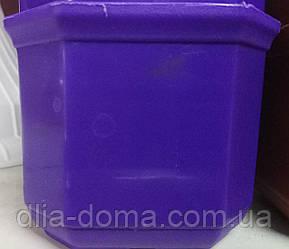 Кашпо Дама д-10 бол.фиолетовый