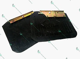 Брызговик колеса задн. Волга 3110 с кроншт. (компл.2шт) (пр-во Россия)