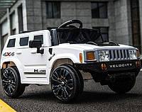 Детский электромобиль FL 1658 WHITE джип, Hummer, белый
