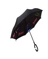 Детский зонт наоборот Up-Brella Антизонт Супергерои