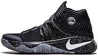 Баскетбольные кроссовки Nike Kyrie 2 Найк Кирай черные/серые
