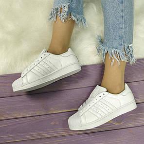 Женские кроссовки в стиле Adidas Superstar (39, 40 размеры), фото 2