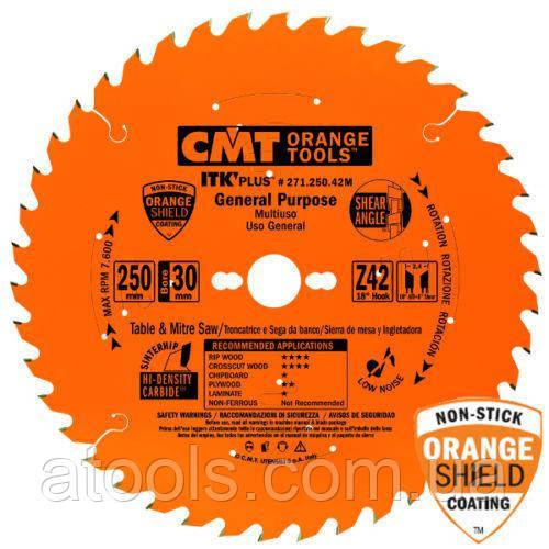 Пильный диск CMT 150x20/16x24z K1.5x1.0 (271.150.24H) ITK PLUS для универсального реза