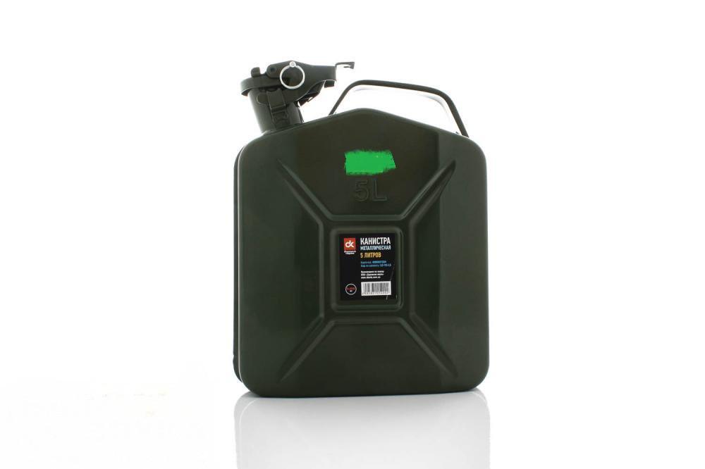 Канистра для бензина Дорожная карта LD-YG-L5 5 литров