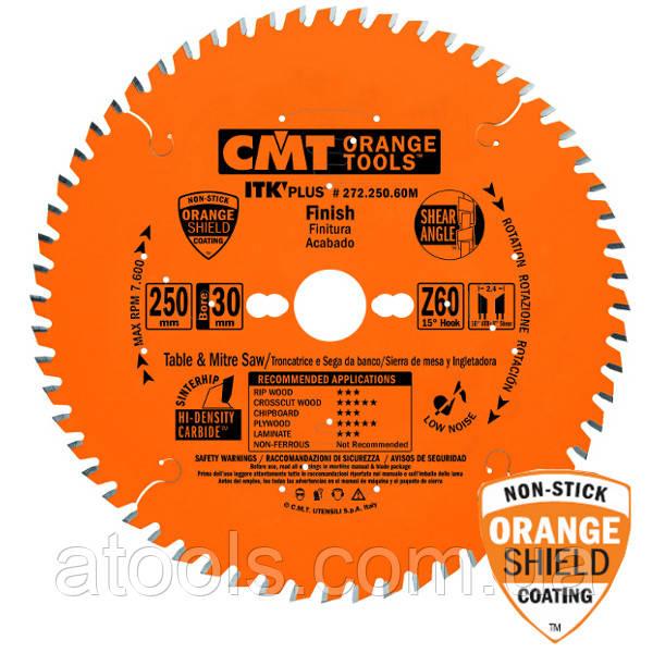 Пильный диск CMT 216x30x48z K1.8x1.2 (272.216.48M) ITK PLUS для универсального реза