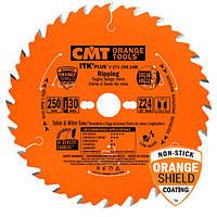 Пильный диск CMT 250x30x24z K2.4x1.6 (271.250.24M) ITK PLUS для продольного реза