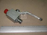 Кран шаровой гидравлический 2х ходовой S24хS24 (М20x1,5-М20x1,5) (Агро-Импульс.М.). S24хS24 (М20*1,5-М