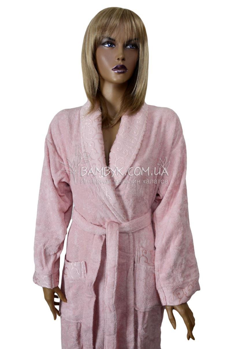 d60e0ac918b8 Элитный бамбуковый халат в подарочной коробке Pupilla № 0203, ...
