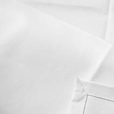 Скатертина 130х130см Біла з тканини Р-195 на стіл 80x80 см Квадратна, фото 2