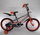 Детский велосипед Crosser Sports 18 дюймов бело-красный, фото 5
