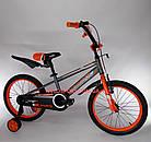 Детский велосипед Crosser Sports 18 дюймов бело-красный, фото 6