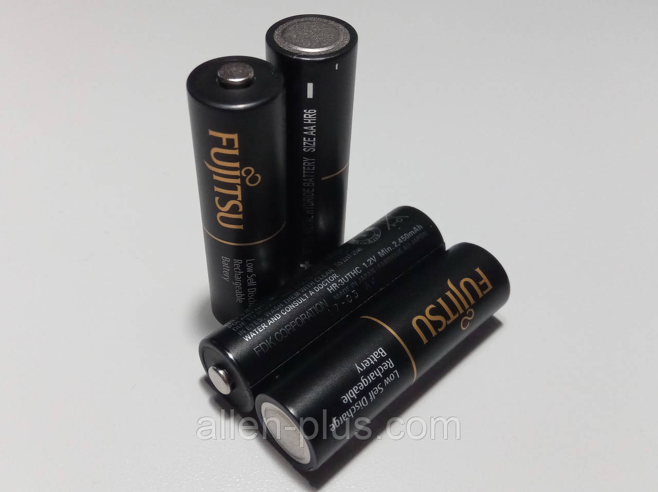 Аккумулятор Fujitsu Pro AA 1,2V (min 2450 mAh), HR-3UTHC, аналог eneloop pro