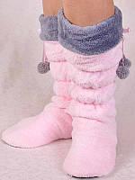 Сапожки-тапочки для дома розовые Nicoletta
