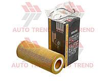 Фильтр масляный (вкладыш) BMW 3 (E46/E90) 99'->;5 (E60) 04'->; 7(E65) 02'->;X3 (E83) 04'->;X5 0 (KAMOKA). F109601