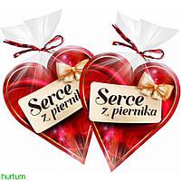 Пряник в шоколаде Сердце Serce z piernika  90 г, фото 1