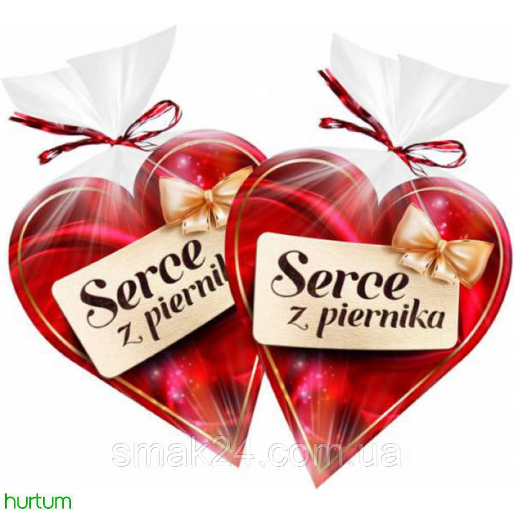 Пряник в шоколаде Сердце Serce z piernika  Польша 90 г, фото 1